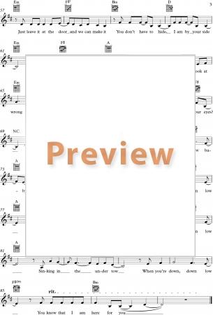Maraaya - Here For You (Slovenia) sheet music